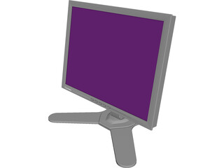 Viewsonic Monitor 3D Model