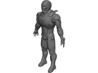 Iron Man MK VI 3D Model