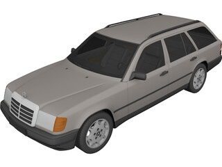 Mercedes-Benz E-Class Kombi 3D Model