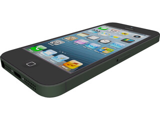 Apple iPhone 5 3D Model
