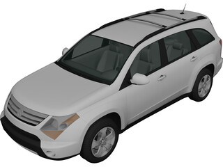 Suzuki XL7 (2009) 3D Model