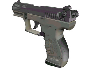 P22 Walther 3D Model