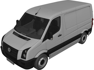 Volkswagen Crafter TDi 3D Model