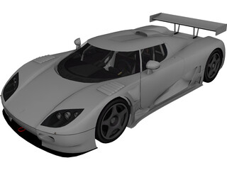 Coenigsegg CCG Race 3D Model