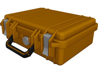 Pelican Case Vanecia CAD 3D Model