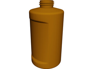 Bottle CAD 3D Model