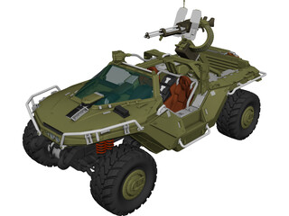M12 FAV Warthog 3D Model