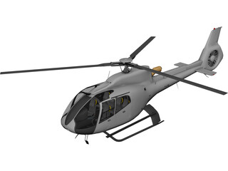 Eurocopter EC-130 3D Model 3D Preview