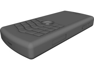 Blackberry Pearl CAD 3D Model