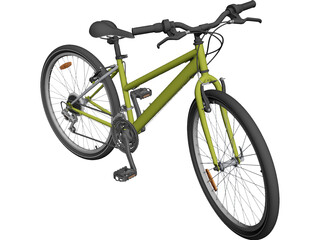 Bicycle CAD 3D Model