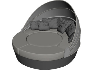 Arena Varaschin Sofa 3D Model