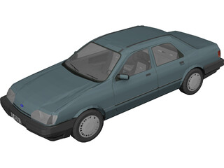 Ford Sierra Shaphire 3D Model