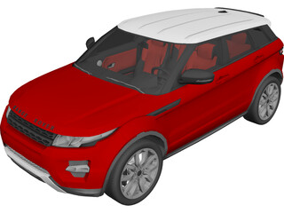 Range Rover Evoque 3D Model
