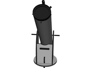 Telescope SkyWatcher Dobsonian 3D Model
