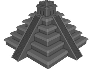 Pyramid Egyptian 3D Model
