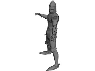 Knight 3D Model 3D Preview