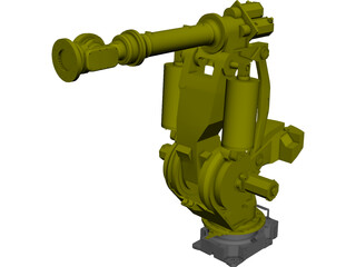 Fanuc M900IA600 Robot Arm CAD 3D Model
