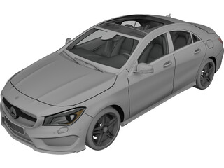 Mercedes-Benz CLA260 Sport Sedan (2014) 3D Model