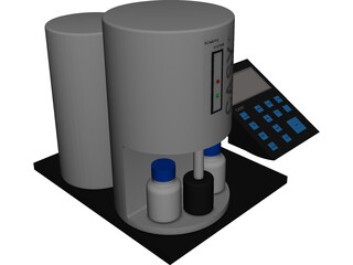 Casy Cell Counter CAD 3D Model
