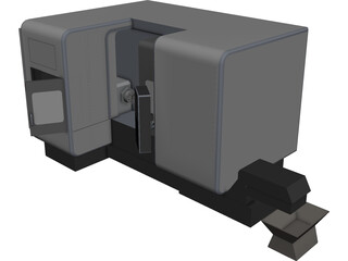 Mazak Integrex i200 CAD 3D Model