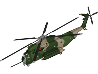 Sikorsky CH-53 Stallion 3D Model