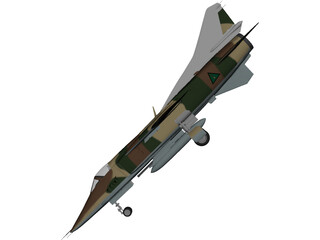 Jaguar Sepecat 3D Model