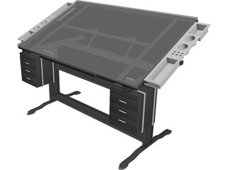 Art Table 3D Model