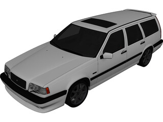 Volvo 850R Estate 3D Model