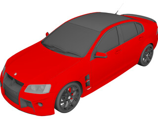 Holden Commodore HSV 3D Model 3D Preview