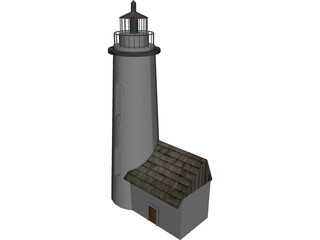 Beacon Lighthouse 3D Model