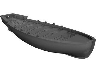 Lifeboat 3D Model 3D Preview