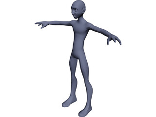 Freebie Man [Rigged] 3D Model