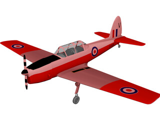de Havilland Canada DHC-1 Chipmunk 3D Model