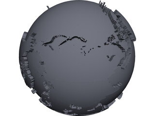 Earth CAD 3D Model