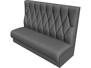White One Sofa 3D Model