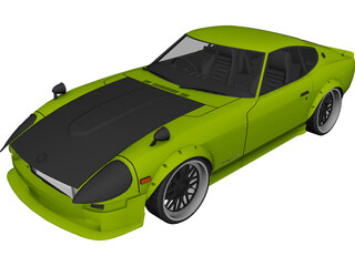 Nissan 240Z Drift Spec 3D Model
