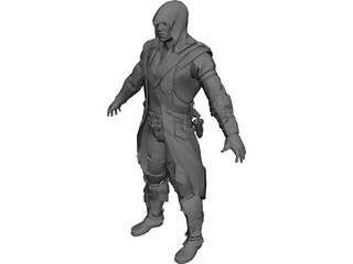 Connor Kenway 3D Model