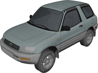Toyota RAV4 (1995) 3D Model