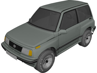 Suzuki Vitara 3-doors (1989) 3D Model
