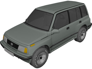Suzuki Vitara 5-doors (1990) 3D Model