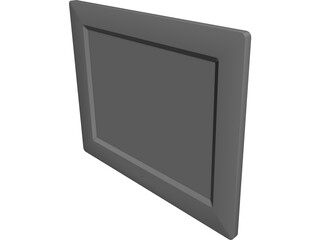 Digital Photo Frame 8 Inch CAD 3D Model