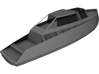Strangeyachting 25 3D Model