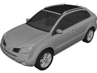 Renault Koleos (2009) 3D Model 3D Preview