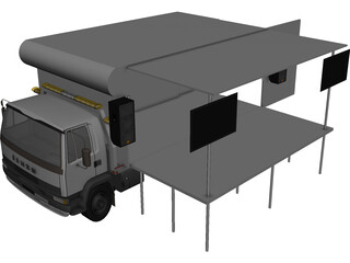 Isuzu Gig Rig 3D Model 3D Preview