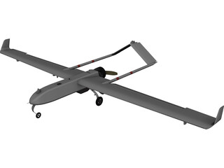 AAI RQ-7 Shadow CAD 3D Model