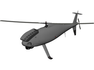Schiebel Camcopter S-100 CAD 3D Model