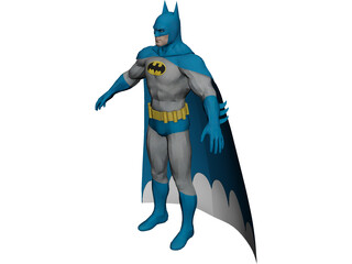 Batman 3D Model 3D Preview