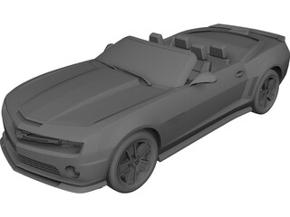 Chevrolet Camaro Convertible (2009) 3D Model