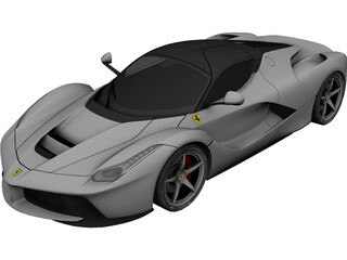 Ferrari LaFerrari (2013) 3D Model