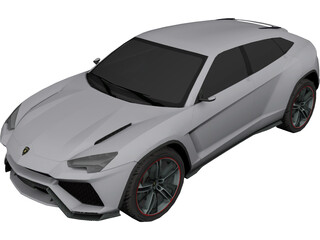 Lamborghini Urus Concept (2012) 3D Model 3D Preview